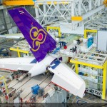 A380 Update: Thai Airways International first A380 goes into final assembly