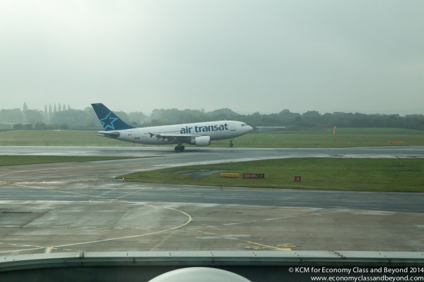 AA55 - Air Transat arriving into Manchester