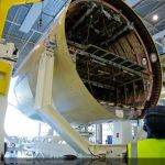 Finnair's First Airbus A350XWB enters the final assembly line