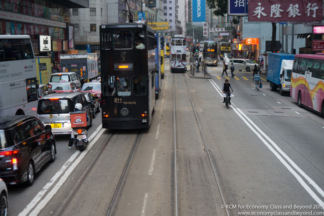 Riding the DingDings (Trams) in Hong Kong