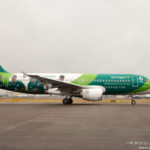 Airplane Art – Aer Lingus Green Spirit A320 at London Heathrow