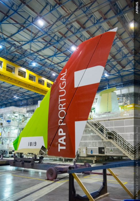 Airbus A330neo tail