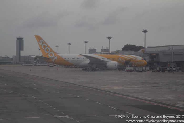 Scoot Boeing 787-8 Dreamliner