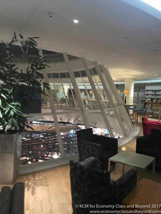 Manchester Airport - British Airways Terraces Lounge