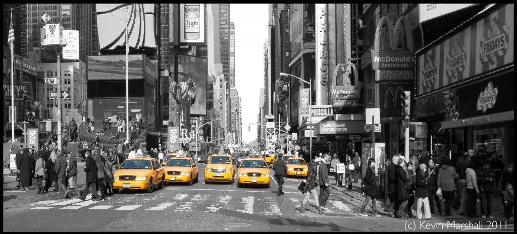 NYC - Times Square Photo. (c) Kevincm 2011. NOT FOR REUSE WITHOUT PERMISSION.