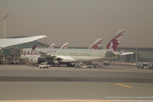 Qatar Airways Boeing 787 QR812