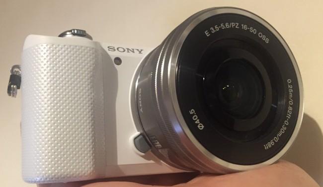 Sony A5000 - vlog camera