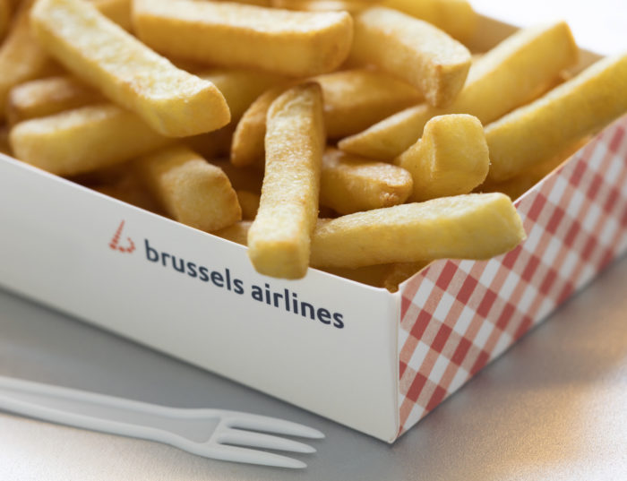 Brussels Airlines Frites in a Pack - Image, Brussels Airlines