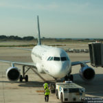 Brussels Airlines Airbus A320 at Barcelona Airport - Image, Economy Class and Beyond