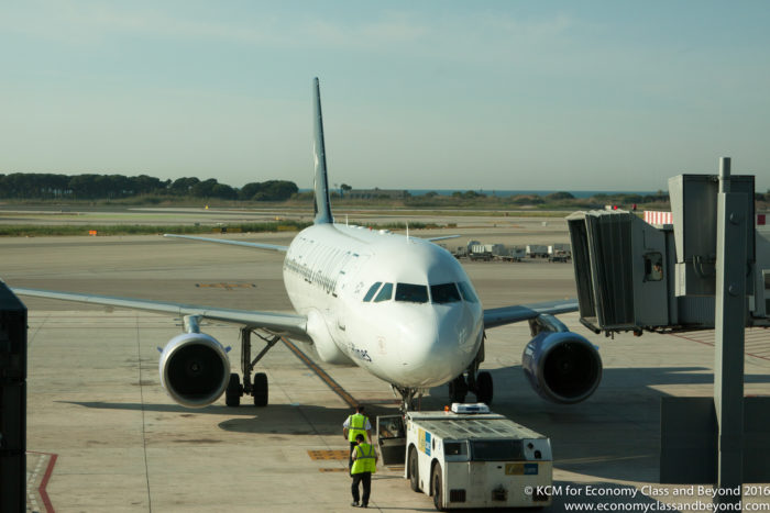 Brussels airlines adds yerevan armenia to its route map economy brussels airlines airbus a320 at barcelona airport image economy class and beyond publicscrutiny Gallery