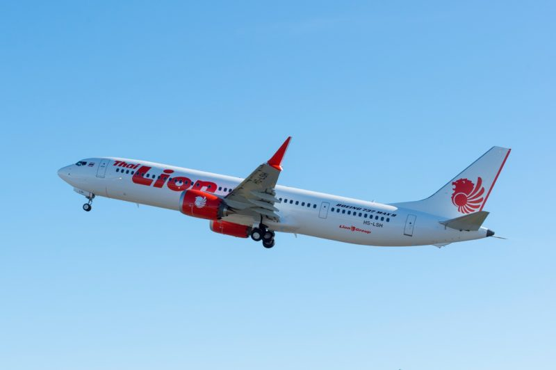 Thai Lion Air Boeing 737 MAX 9 - Image, The Boeing Company