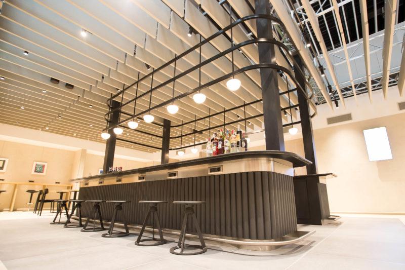 British Airways new Rome fiumicino lounge