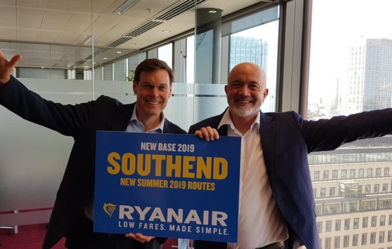 Ryanair Southend Network
