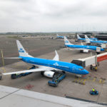 A brace of KLM Boeing 737s operating short haul services from Amsterdam Schiphol - Image, Economy Class and Beyond