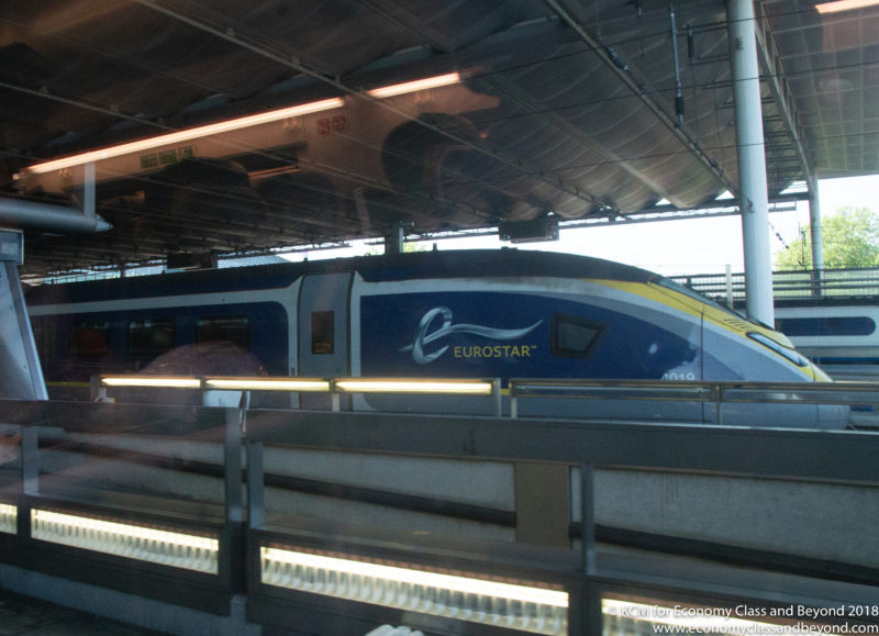 Eurostar ES 9114 London to Amsterdam