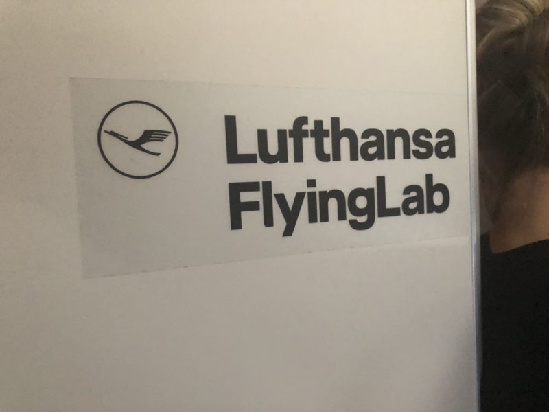 Lufthansa Flying lab