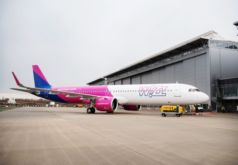 1st Airbus A321neo delivered to Wizz Air - Image, Airbus