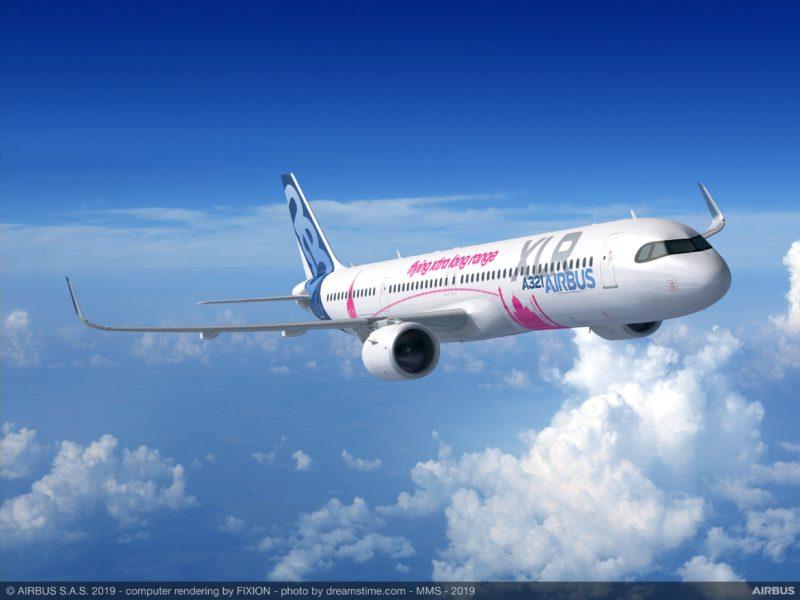 Airbus A321XLR - Rendering, Airbus