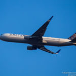 United Airlines Boeing 767-300ER with Winglets departing Chicago - Image, Economy Class and Beyond