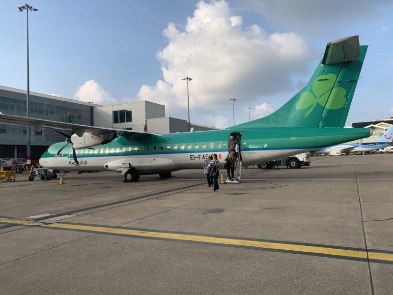 SNAPSHOT: Aer Lingus Regional 3276 Dublin to Birmingham