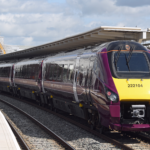 East Midlands Railway Class 222 train - Image, Luton Airport/East Midlands Railway