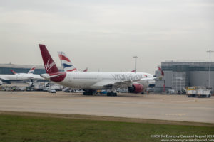 Virgin Atlantic Airbus A350-1000 at London Heathrow - Image, Economy Class and Beyond