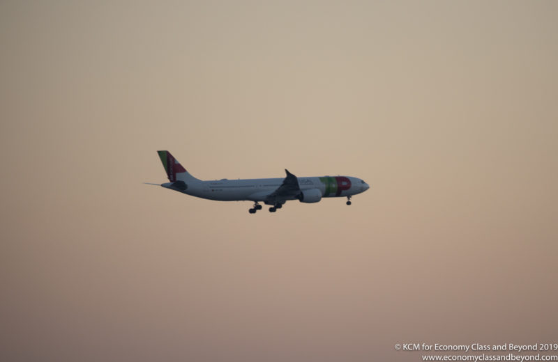 TAP Air Portugal Airbus A330-900neo arriving at Chicago O'Hare - Image, Economy Class and Beyond
