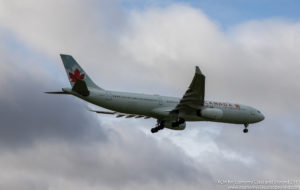 Air Canada Airbus A330-300 on final approach to Dublin Airport - Image, Economy Class and Beyond