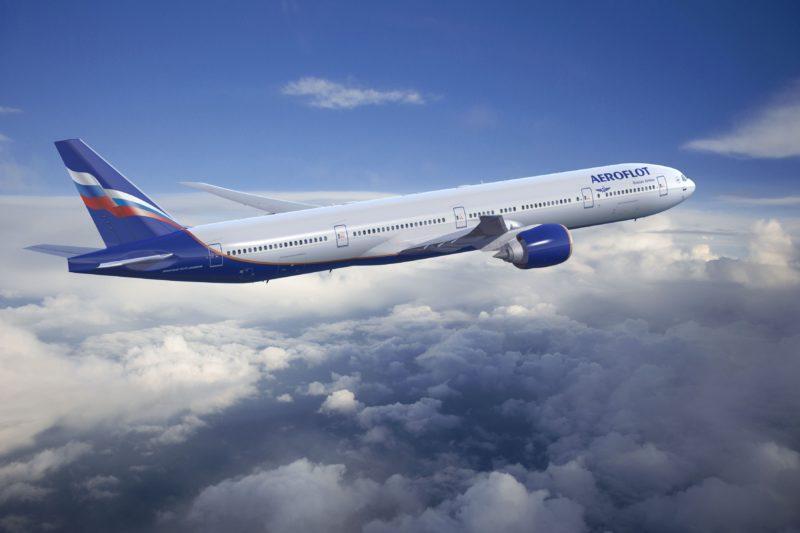ARO Aeroflot 777-300ER Artwork K65276 - Aeroflot Boeing 777-300ER - Image, The Boeing Company