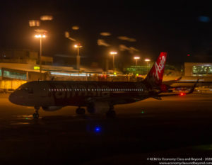 AirAsia Airbus A320 at Singapore Changi Airport - Image, economy Class and Beyond