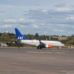 Scandinavian Airlines Boeing 737-700 at Oslo Airport - Image Economy Class and Beyond