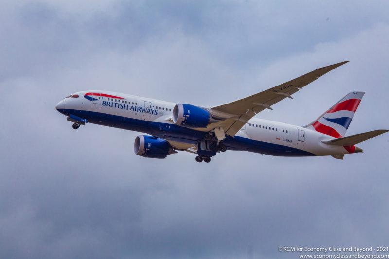 British Airways Boeing 787-8 Dreamliner - Image, Economy Class and Beyond